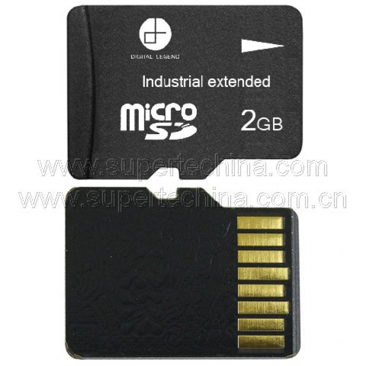Industrial extended temperature Micro SD card